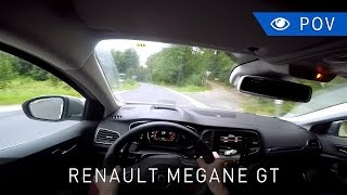 Renault mégane gt 1.6 tce edc 205 km (2016) - pov drive | project automotive