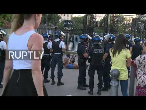 Tensions in  Marseille after France World Cup title