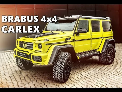 Custom G Wagon >> BRABUS Mercedes G500 4x4 by Carlex Design - YouTube