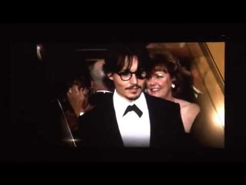 Johnny Depp receives his Disney Legend Award at the D23 Expo