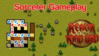 Realm of the Mad God Sorcerer Gameplay 2013