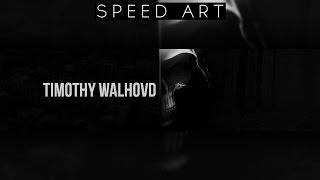 grim reaper youtube banner   speed art   photoshop cc