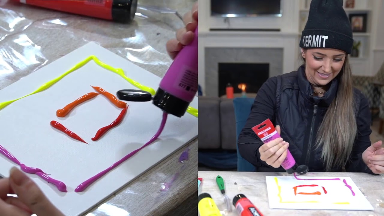 Jenna Marbles Being an Artistic Queen