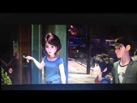 Big hero 6 - funny aunt Cass moment