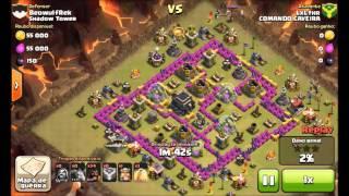 Clash of Clans - Ataque Com Corredores Na Guerra