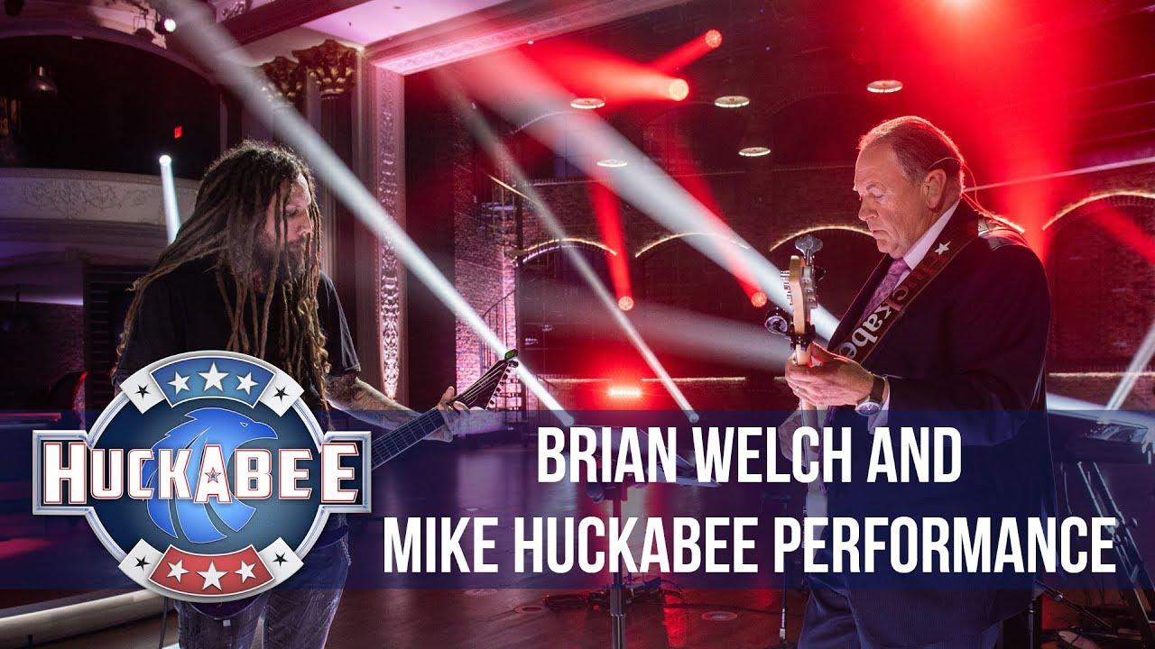 Image result for Huckabee shreds with Korn