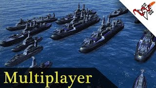 Supreme Commander Forged Alliance - 5P FFA Huge Naval Battles   Multiplayer [1080p/HD]