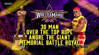Andre The Giant Memorial Battle Royal WrestleMania 30 Full Match