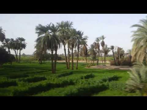 Night  train from Cairo to Aswan 2018 ancient music