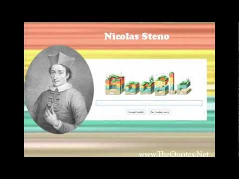Nicolas Steno -   Father of  Geology and Stratigraphy