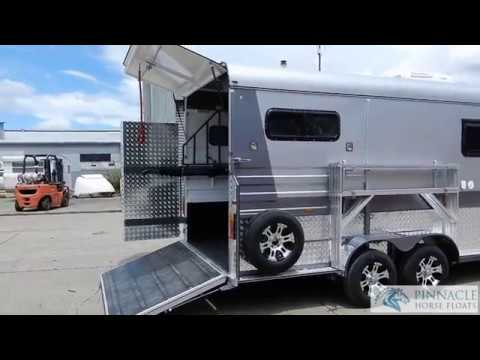 2 Horse Angle Load Horse Float With Living Quarters 2HA-Ultimate Square Front