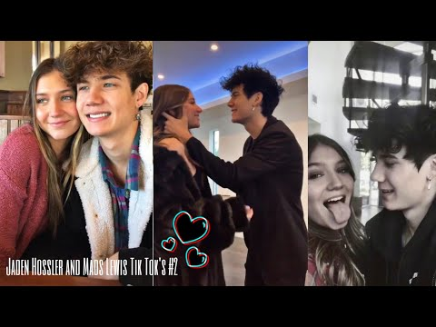Jaden Hossler and Mads Lewis Tik Tok's #2 | they are officially dating