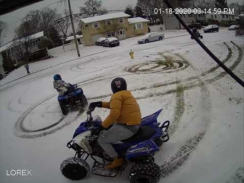 Video: Group On ATVs Damaged Lawn Of Long Island Home,  Police Say