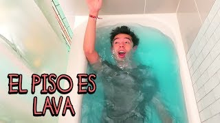 El Suelo es Lava con Youtubers y Bailo con Miranda Sings - VLOG #45
