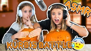 ASMR KÜRBIS BATTLE mit Jana! 😂+ ANKÜNDIGUNG (next level)