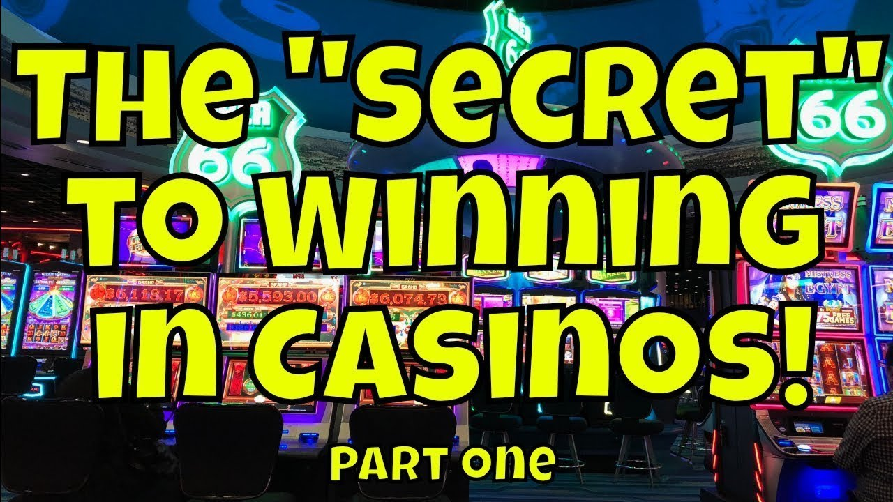 """The """"Secret"""" to Winning in Casinos! - Part One (Corrected ..."""