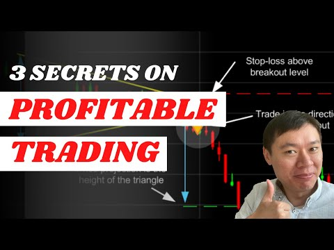 3 SECRETS ON HOW YOU CAN BE PROFITABLE AT TRADING AND WHY MOST TRADERS FAIL!