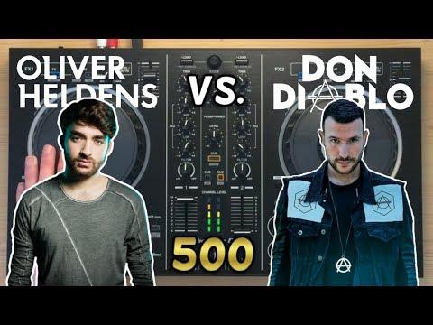 Oliver Heldens vs Don Diablo Live Mix 2017 | Pioneer DDJ-RB [500 SUBS SPECIAL]