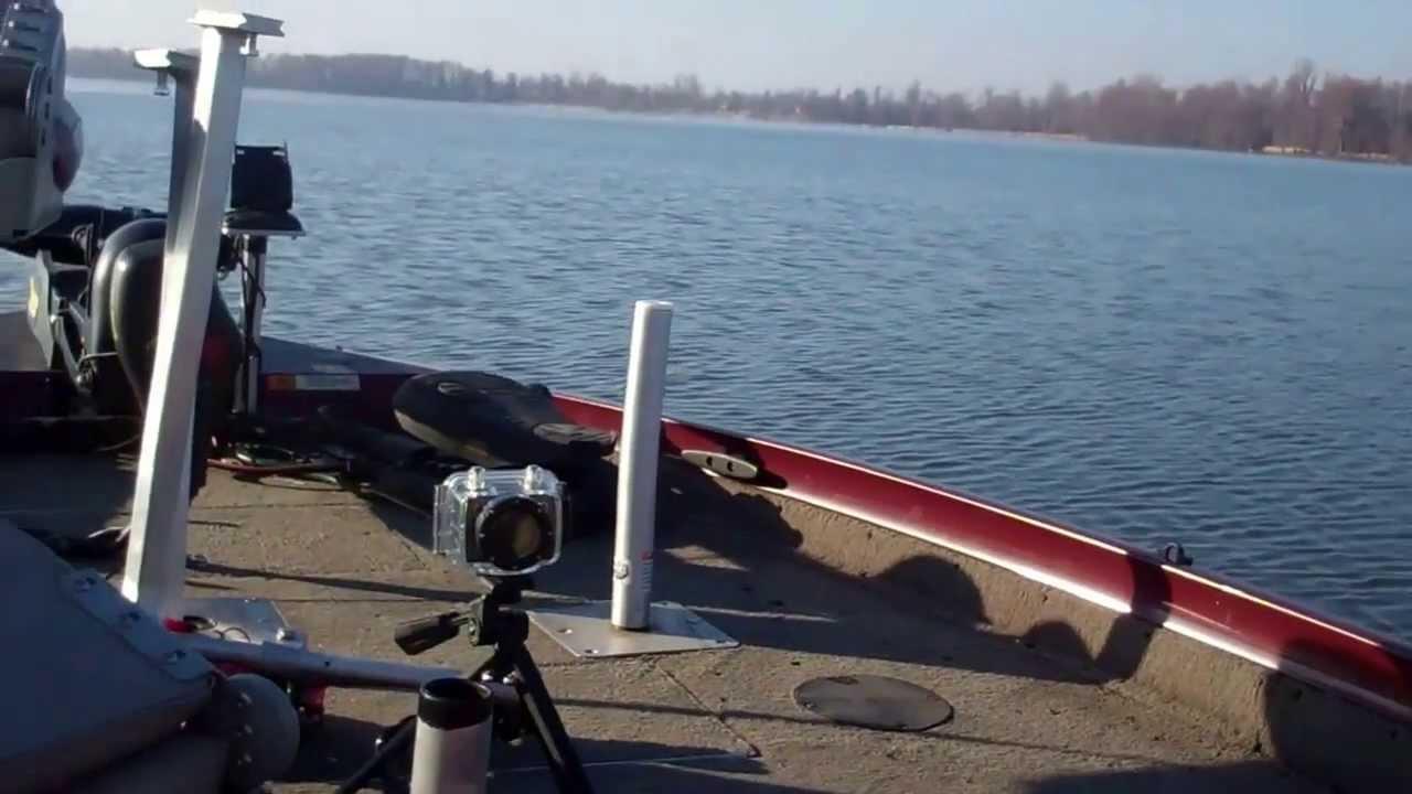 Reelfoot lake ice youtube for Reelfoot lake fishing report