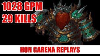 HoN Pro Berzerker Gameplay | Koomanp | Immortal Rank