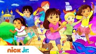 Dora E Seus Amigos: Na Cidade | Música de abertura 🎤 | Nick Jr.