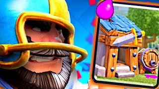 DOWN! SET! BARB HUT! - Clash Royale