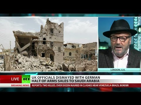 """Galloway: """"This is #Brexit Britain lecturing EU Germany on their foreign policy to Saudis"""""""