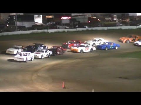 Pure Stock Feature | McKean County Raceway | 8-7-14