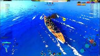 World of warships CARTOON MOD! (How to torpedo dodge Tirpitz)(World of warships CARTOON MOD! (How to torpedo dodge Tirpitz), 2017-01-06T08:04:01.000Z)