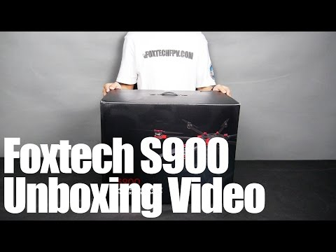 DJI S900 Unboxing Video