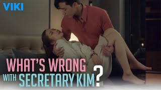 Video What's Wrong With Secretary Kim? - EP13 | Park Seo Joon Tucks Her In Bed [Eng Sub] download MP3, 3GP, MP4, WEBM, AVI, FLV Oktober 2019