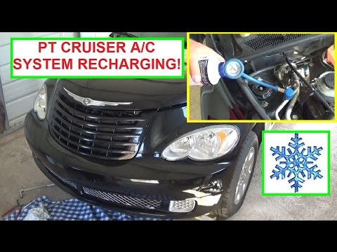 chrysler pt cruiser a c air conditiner recharging how to recharge air conditioning on pt. Black Bedroom Furniture Sets. Home Design Ideas