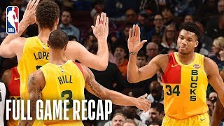 Gambar cover BUCKS vs 76ERS | Giannis Antetokounmpo Goes For 45 Points In Philly | April 4, 2019