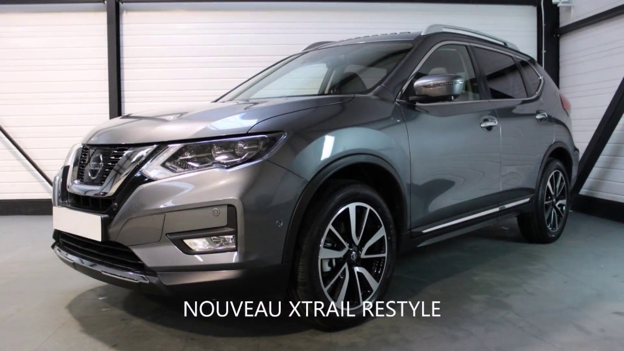 nissan x trail 2018 7 places tekna options et quipements en d tails auto youtube. Black Bedroom Furniture Sets. Home Design Ideas