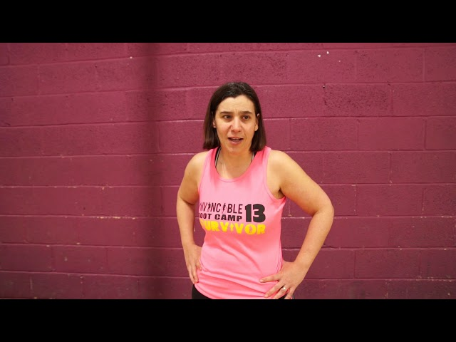 Zoe's Invincible Bootcamp Testimonial
