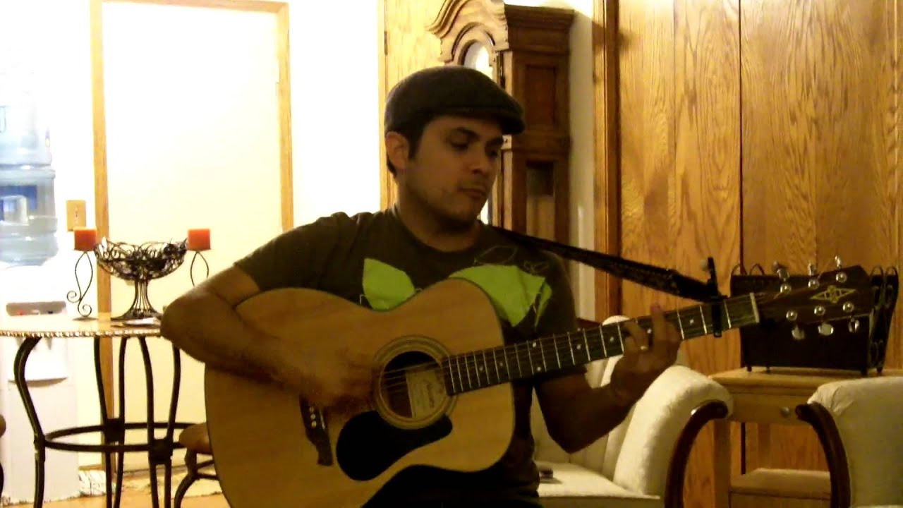 Tangled Up In Blue Open Tuning Dylan Cover Youtube