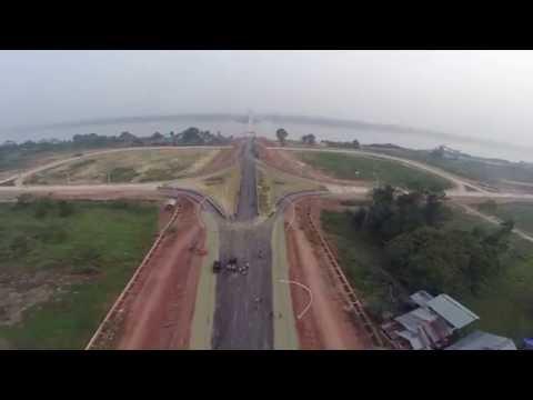progress jembatan Tayan,sanggau Kalimantan Barat (4 oktober 2015)
