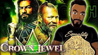 GRESH'S WWE CROWN JEWEL AKA 'JEWELING CROWN' 🤣 LIVE REACTION [HIGHLIGHTS]