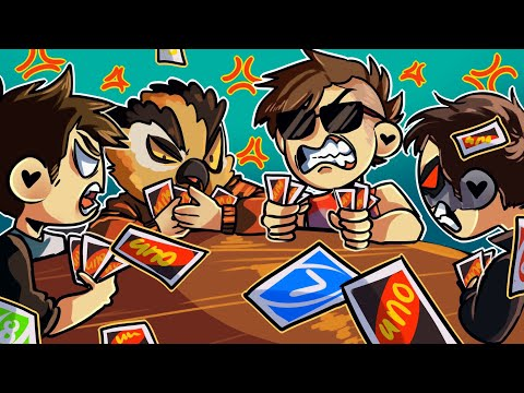 THE NEVER ENDING UNO SESSION!! - Uno Funny Moments