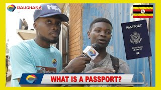What is a PASSPORT? | Street Quiz 🇺🇬 | Funny African Videos | Funny Videos | Try Not To Laugh |