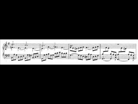 J.S. Bach - BWV 717 - Allein Gott in der Höh' sei Ehr'