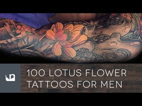 100 Lotus Flower Tattoos For Men