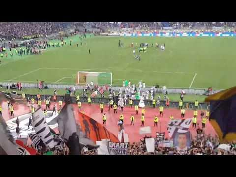 Finale coppa Italia 2017 Juventus 2 Lazio 0 festeggiamenti