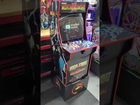 Arcade1up Mortal kombat upgrade 12000 games from J M Arcades