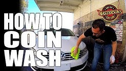 How To Coin Operated Car Wash - Masterson's Car Care - Detailing Tricks