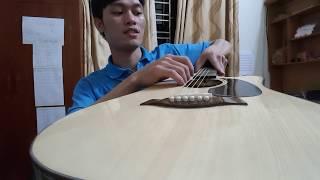 Đàn Guitar Giá Rẻ 2300k | Đàn Guitar gỗ Mahogany (Hồng Đào Bắc Phi)