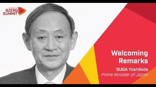 Japanese Prime Minister Suga Yoshihide: Eurasia Group's 2020 GZERO Summit