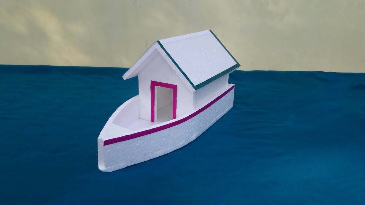 how to build a boat for school project