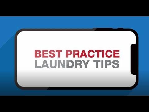 Best Practice Laundry Tips!