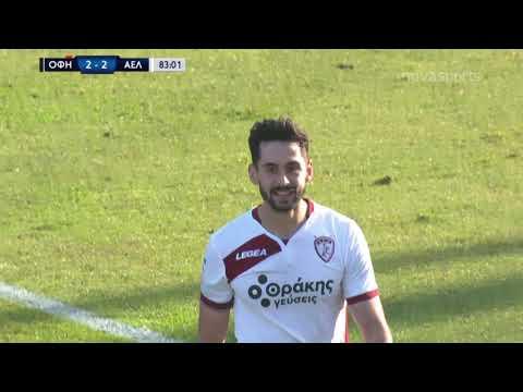 OFI Crete AEL Larissa Goals And Highlights
